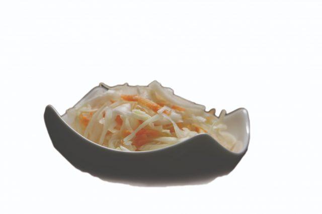 Kapustovo-mrkový šalát – 150g – 0,60 €