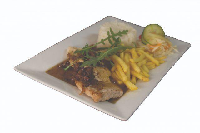 Mäso dvoch farieb na hubách 200g – 6,90 €