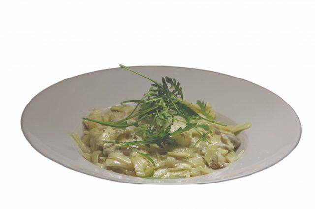 Tagliatelle s hubovo-smotanovou omáčkou – 350g – 6,30 €