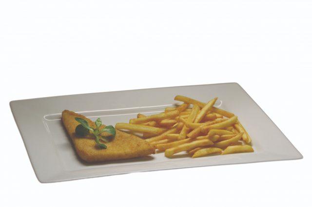 Vyprážaný syr, hranolky – 3,10 €